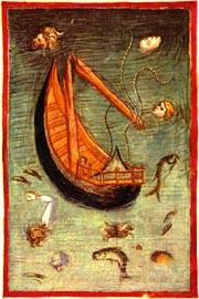Inf._26,_Anonimo_fiorentino,_Il_naufragio_della_nave_di_Ulisse,_1390-1400_ca.